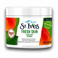Ives Fresh Skin Apricot Scrub 283 g: Dead Skin Cells. Oil Free and Suitable for All Skin Types Beauty Skin, Health And Beauty, Apricot Scrub, Scrubs, Beauty Products, How To Remove, Fresh, Healthy, Hair