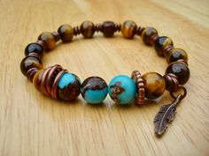 Men's Spiritual Protection, Fortune Bracelet with Semi Precious Hawk's Eye or Blue Tiger's Eye, Hematites, Nepalese Carnelian Silver Capped Healing Bracelets, Jewelry Bracelets, Men's Jewelry, Jewelry Making, Necklaces, Stone Jewelry, Stone Beads, Jewelry Crafts, Jewelry Design