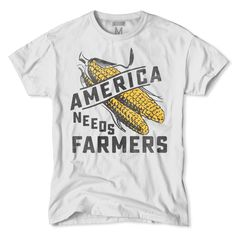 Support farming and ANF with this America Needs Farmers T-Shirt.