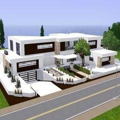 Sims 3 moderne häuser grundrisse  modernes Haus von ur1705 - Der Exchange - Community - Die Sims 3 ...