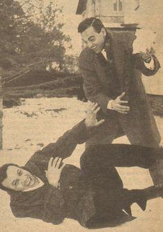 Sadri Alışık & Ayhan Işık ...1964. Best actors of Yeşilçam!