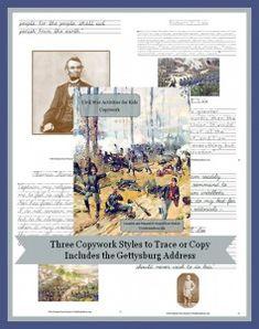 Civil War Activities for Kids: Puzzles, Games, & Quizzes - WriteBonnieRose.com