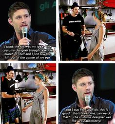 [gifset] #JensenAckles on the kilt in Ten Inch Hero. If you haven't seen this movie you have not begun life yet. It's on youtube....Watch it
