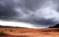 Storm about to break in Karoo
