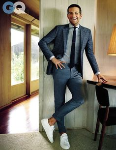 Hung Over on this look! #Bradleycooper #GQ Dapper