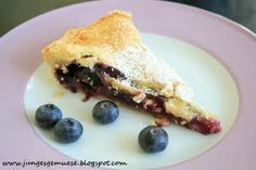 Blaubeer-Pie * Baking Recipes, Cake Recipes, French Toast, Pie, Breakfast, Desserts, Food, Cooking Recipes, Torte
