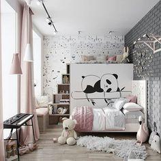 Original children's rooms or how to get the WOW effect Girl Bedroom Designs, Girls Bedroom, Bedroom Decor, Creative Kids Rooms, Minimalist Room, Kids Room Design, Kids Furniture, Girl Room, Room Interior