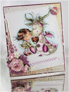 Paper Crafting in Cocoa: Whimsy Stamps January 2017 Release
