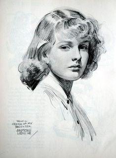 Andrew Loomis Painting