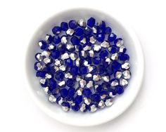 Round Spacer Jewelry Making Bead 1009C 100pcs 3mm Faceted Glass Bead Czech Fire Polished Light Blue AB