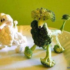 FUN CREATIVE VEGETABLE DOGS!!!!