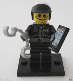 The Lego Movie Minifigure 71004 Bad Cop