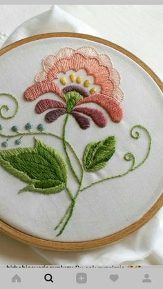 Embroidery Sampler, Floral Embroidery, Hand Embroidery, Embroidery Patterns, Cross Stitch Patterns, Hand Stitching, Crafty, Decorative Plates, Needlework