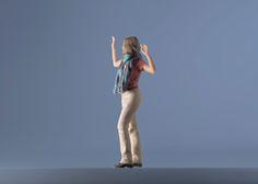 Je soulève une vitre invisible ?#Moïmee3D #CoolDeLuxe #CourBleue #BHV #Danse #Moïmap #Design