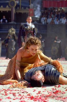 """Connie Nielsen as Lucilla. """"Gladiator"""", movie, Representation of a wealthy woman. Connie Nielsen as Lucilla. """"Gladiator"""", movie, Representation of a wealthy woman. Keanu Reeves, Love Movie, Movie Tv, Movie Scene, Gladiator Movie, Gladiator Maximus, The Gladiator, Gladiator Halloween, Gladiator Characters"""