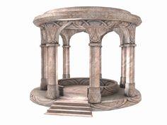 Elven courtyard idea