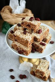 Angie's Recipes . Taste Of Home: No Bake Amaranth Bars (Vegan, Gluten-free)