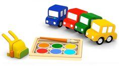 Cartoni animati per bambini: Macchinine Colorate tornano a scuola