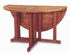 """Eucalyptus 48"""" Round Folding Table"""