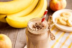 Banana Smoothie with Cinnamon – Suzy Cohen suggests ways to heal naturally without medication Banana Milkshake, Cinnamon Spice, Afternoon Snacks, Peanut Butter, Almond Butter, Healthy Snacks, Smoothies, Herbalism, Food And Drink
