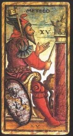 Metelo:  Meaning of Metelo from the Sola Busca Deck:   Upright: Internal…