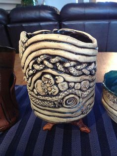Coil Pot - by Laurie B, via Flickr
