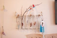 bottles & hanging stuff