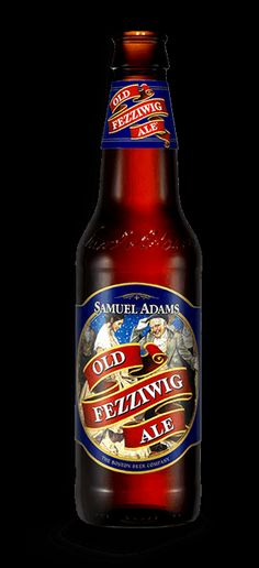 Looking forward to artsy, winter beer. Sam Adams Old Fezzywig Ale