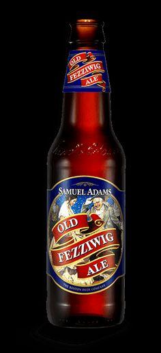 Looking forward to artsy, winter beer. Sam Adams Old Fezzywig Ale