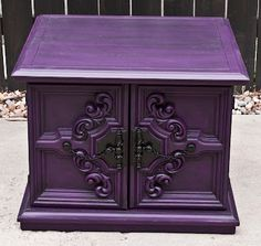 Modernly Shabby Chic Furniture: Purple