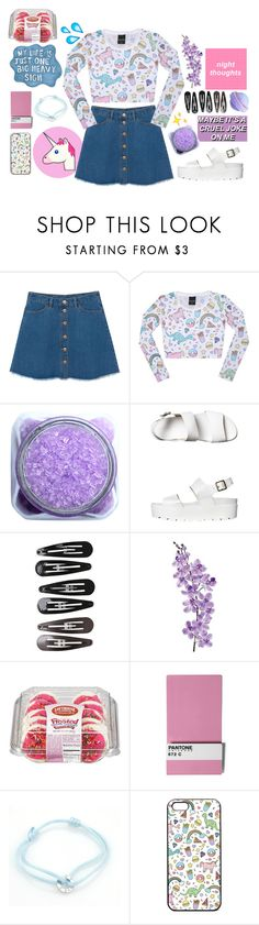 """""""Come here and visit my world"""" by i-smell-grunge ❤ liked on Polyvore featuring Monki, Windsor Smith, Clips, Laura Cole, Seletti and Cartier"""