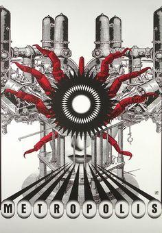 Metropolis Metropolis Otto-Wegrzyn Bogna Polish Poster