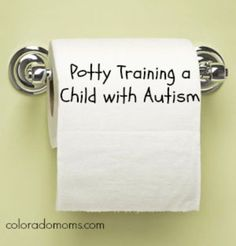 Let's face it, potty training any child is a struggle. It's not a fun process, it's frustrating for both kids and parents and it can be, well, quite messy. Now throw in to the mix a kid with autism. Autism Education, Autism Learning, Autism Sensory, Autism Parenting, Autism Activities, Autism Resources, Autism Classroom, Special Education, Calming Activities
