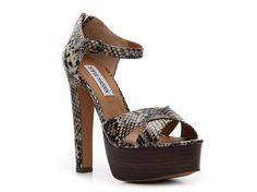 SM Women's Rubi Snake Sandal Wedges Sandal Shop Women's Shoes - DSW