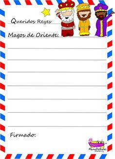 Carta de los Reyes magos para imprimir | Manualidades Infantiles