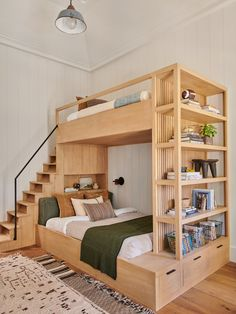 4 Reasons You Should Install Bunk Beds In Your Bedroom – Home Dcorz Kids Bedroom, Bedroom Decor, Bedroom Ideas, Bed Ideas, Modern Bedroom, Bunk Bed Designs, Amber Interiors, Woodworking Plans, Woodworking Projects