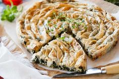 Spinach and feta spiral – Recipes – Bite