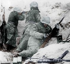 Waffen-SS near Bastogne, December 1944.