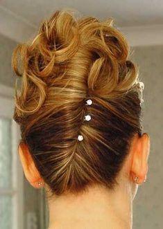Prom Hair Updo, Curly Wedding Hair, Bridal Hair, Wedding Updo, Pageant Hair, Wedding Beauty, Twist Braid Hairstyles, Bride Hairstyles, Formal Hairstyles