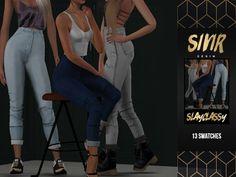 SlayClassy - Sivir Denim - The Sims 4 Download - SimsDom