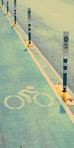 bicycle lane by mutita.narkmuang on Creative Market