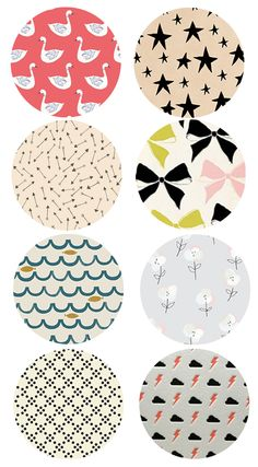 pretty patterns on design bright