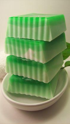 Glycerin Soap  Coconut Lime Glycerin Soap by Blackberrythyme, $4.50