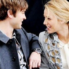 Nate and Serena