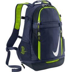 la mochila y verde y azul