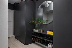 〚 Nice swedish apartment with warm decor sqm) 〛 ◾ Photos ◾Ideas◾ Design Warm Home Decor, Home Decor Kitchen, Decoration Inspiration, Dark Interiors, Scandinavian Home, Home Decor Trends, Living Room Decor, Sweet Home, House Design