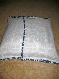 DIY Envelope Style No Sew Pillow Cover Tutorial - Charleston Crafted