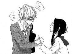 Find images and videos about manga, hirunaka no ryuusei and daytime shooting star on We Heart It - the app to get lost in what you love. Manga Anime, Anime Couples Manga, Cute Anime Couples, Anime Guys, Manga Couple, Anime Love Couple, Manga Illustration, Illustrations, Manga Romance
