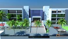 How construction companies use Architectural exterior 3D rendering for business benefits?   CAD Resolution