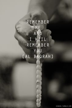 Remember Allah